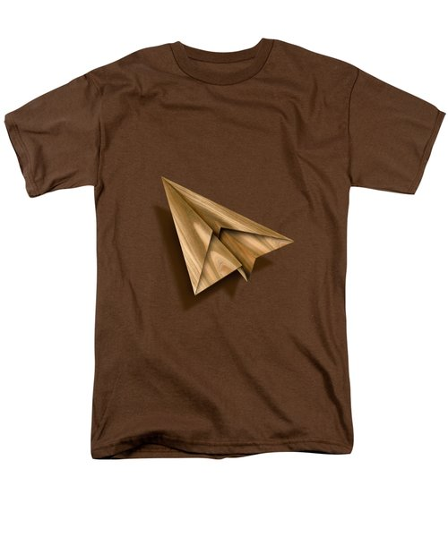 Paper Airplanes Of Wood 1 Men's T-Shirt  (Regular Fit) by YoPedro