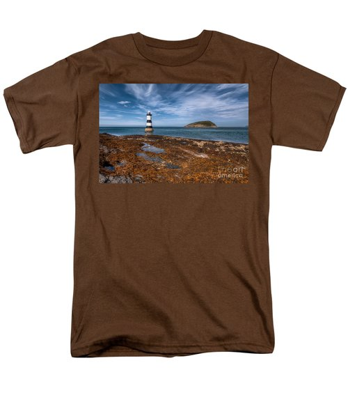 Penmon Lighthouse T-Shirt by Adrian Evans