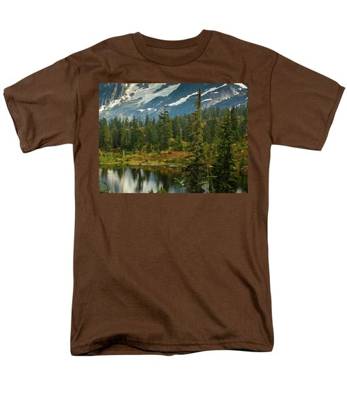 Picture Lake Vista T-Shirt by Mike Reid