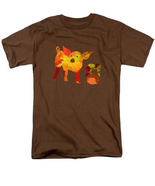 Pretty Pig Men's T-Shirt  (Regular Fit) by Holly McGee