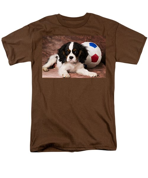 Puppy with ball T-Shirt by Garry Gay