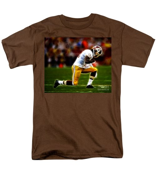 RG3 - Tebowing T-Shirt by Paul Ward