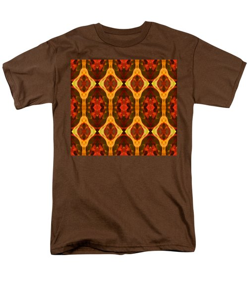 Ruby Glow Pattern T-Shirt by Amy Vangsgard