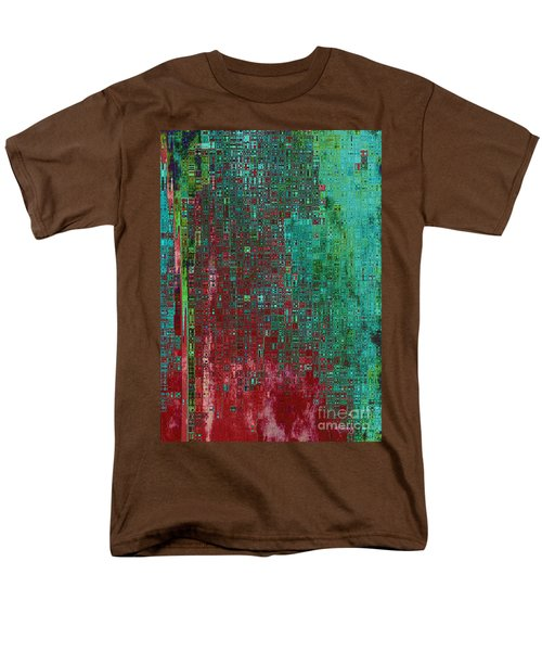Rust Abstract T-Shirt by Carol Groenen