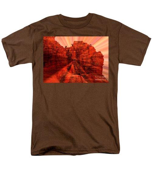Sedona Sunset Energy - Abstract Art T-Shirt by Carol Groenen