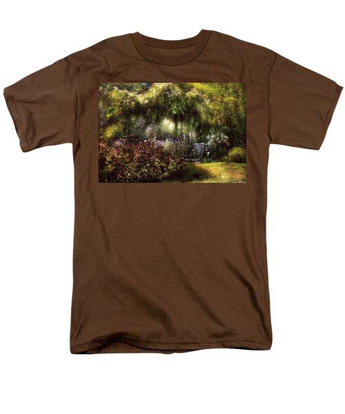 Summer - Landscape - Eve's Garden T-Shirt by Mike Savad