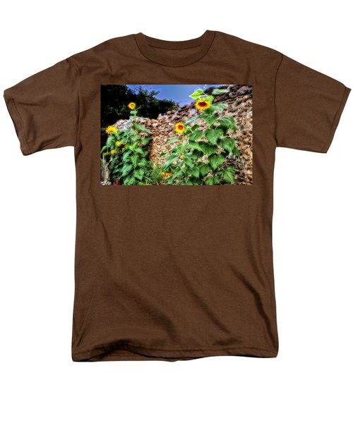 Sunflower Wall T-Shirt by Bill Cannon