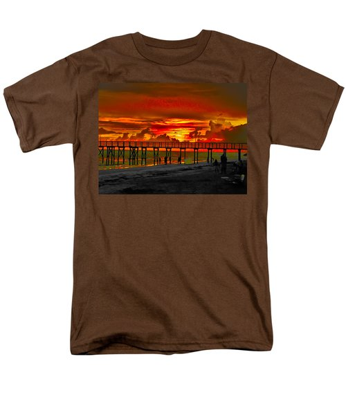 Sunset 4th of July T-Shirt by Bill Cannon