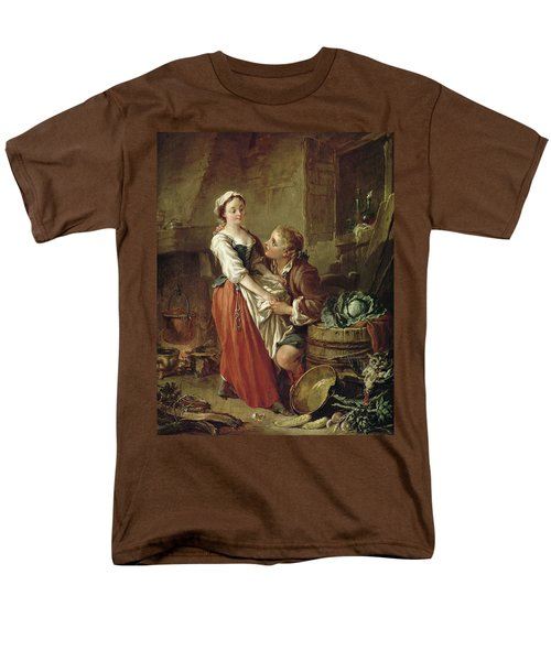 The Beautiful Kitchen Maid Men's T-Shirt  (Regular Fit) by Francois Boucher
