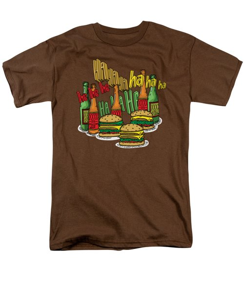 The Big Lebowski  Some Burgers Some Beers And A Few Laughs  In And Out Burger Jeff Lebowski Men's T-Shirt  (Regular Fit) by Paul Telling