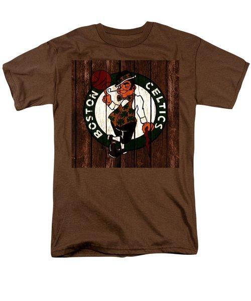 The Boston Celtics 2c Men's T-Shirt  (Regular Fit) by Brian Reaves