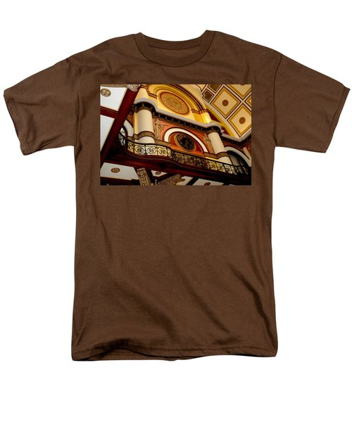 The Clock in the Union Station Nashville T-Shirt by Susanne Van Hulst