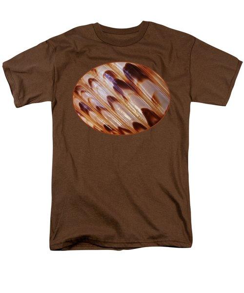 Triton Seashell Abstract Men's T-Shirt  (Regular Fit) by Gill Billington