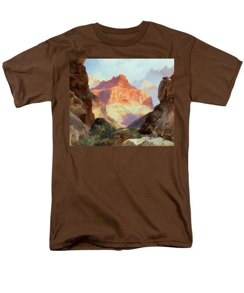 Under The Red Wall Men's T-Shirt  (Regular Fit) by Thomas Moran