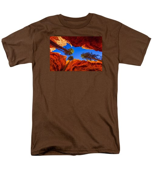 Up From Wall Street T-Shirt by Chad Dutson