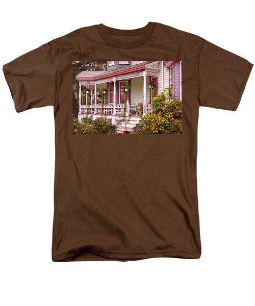Victorian - Belvidere NJ - The beauty of Spring  T-Shirt by Mike Savad