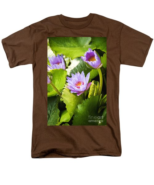Water Lilies T-Shirt by Ray Laskowitz - Printscapes