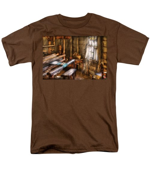 Weaver - The Weavers Room T-Shirt by Mike Savad