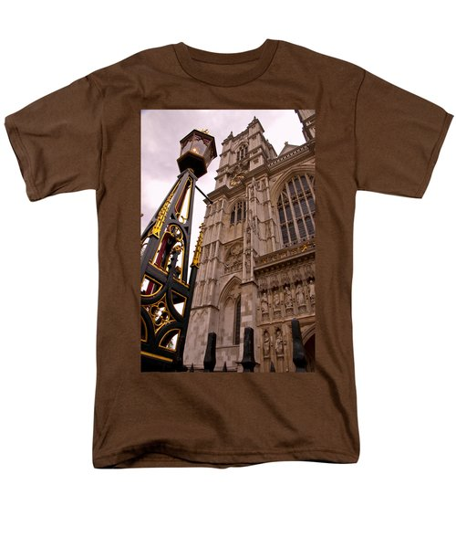 Westminster Abbey London England Men's T-Shirt  (Regular Fit) by Jon Berghoff