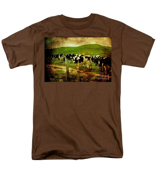 When The Cows Come Home . Photoart T-Shirt by Wingsdomain Art and Photography