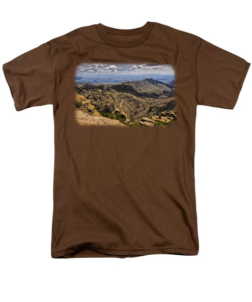 Windy Point No.1 Men's T-Shirt  (Regular Fit) by Mark Myhaver