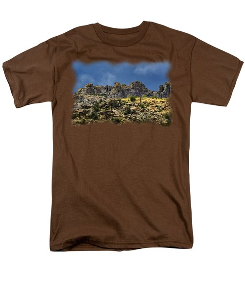 Windy Point No.7 Men's T-Shirt  (Regular Fit) by Mark Myhaver