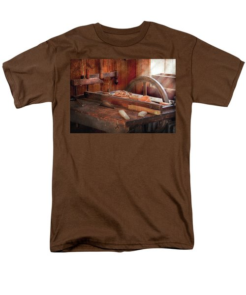 Woodworker - The Table Saw T-Shirt by Mike Savad