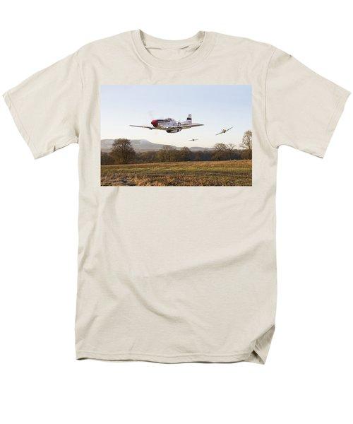 Through the Gap T-Shirt by Pat Speirs