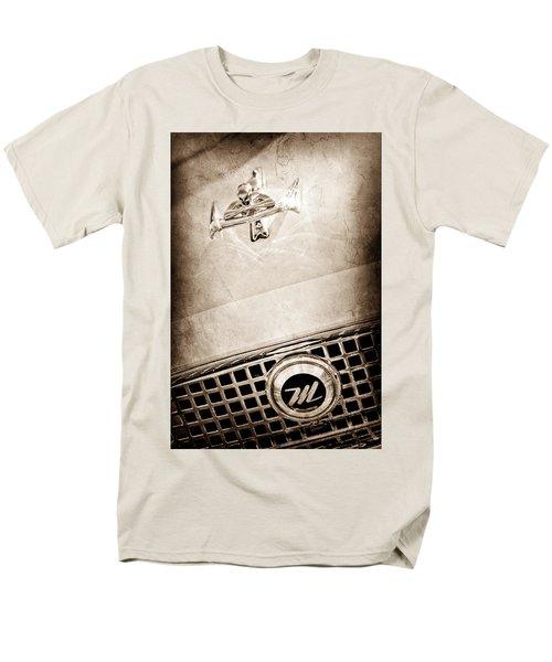 1960 Nash Metropolitan Hood Ornament - Grille Emblem T-Shirt by Jill Reger