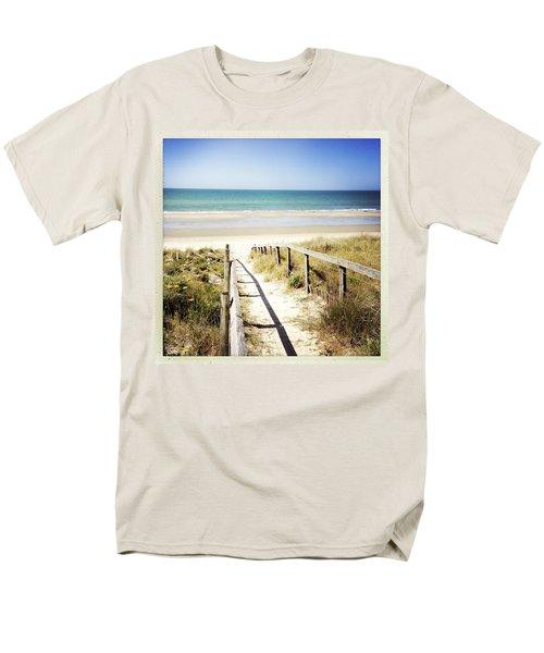 Beach T-Shirt by Les Cunliffe