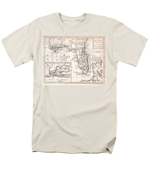 1763 Gibson Map of East and West Florida T-Shirt by Paul Fearn