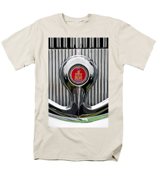1935 Pierce-Arrow 845 Coupe Emblem T-Shirt by Jill Reger
