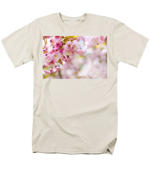 Pink cherry blossoms  T-Shirt by Elena Elisseeva