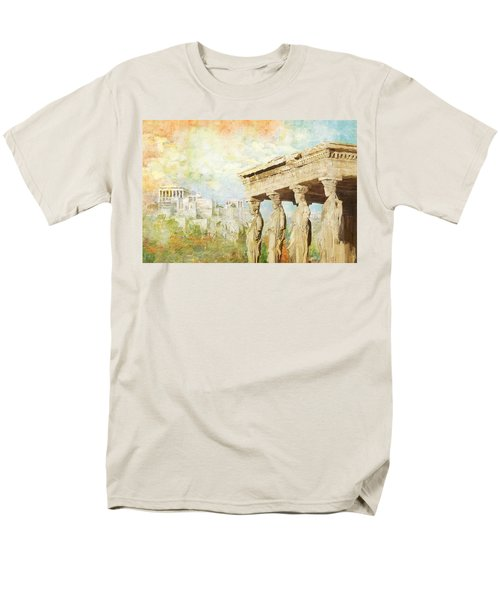 Acropolis of Athens T-Shirt by Catf