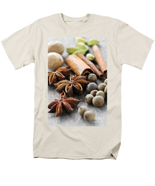 Assorted spices T-Shirt by Elena Elisseeva