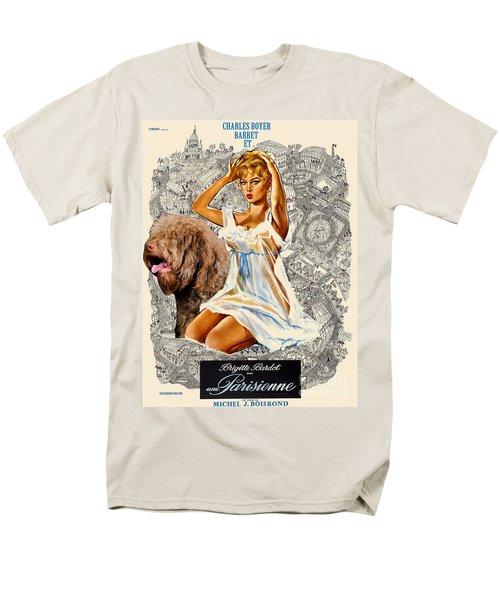 Barbet Art - Una Parisienne Movie Poster T-Shirt by Sandra Sij