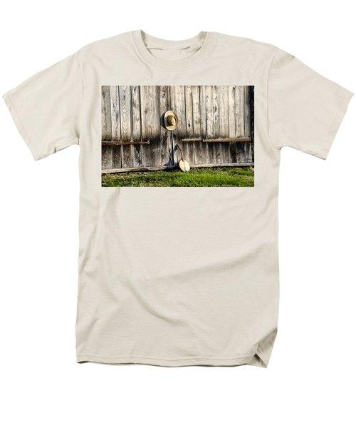 Barn Door and Banjo Mandolin T-Shirt by Bill Cannon