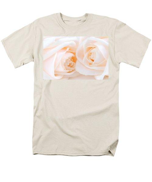 Beige roses T-Shirt by Elena Elisseeva