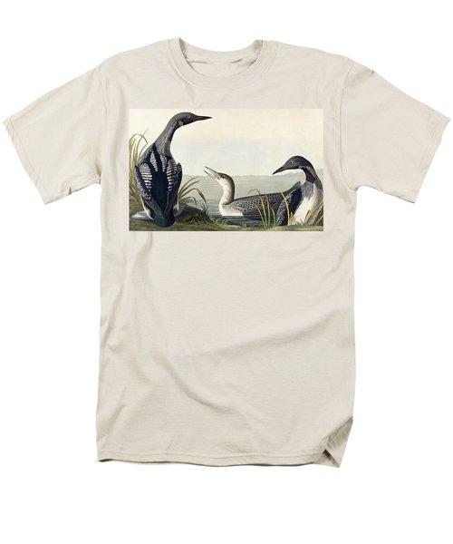 Black Throated Diver  Men's T-Shirt  (Regular Fit) by John James Audubon