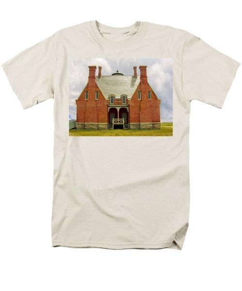 Block Island Southeast Light -Back View T-Shirt by Lourry Legarde