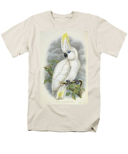 Blue-eyed Cockatoo Men's T-Shirt  (Regular Fit) by William Hart