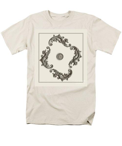 British Shilling Wall Art T-Shirt by Joseph Baril