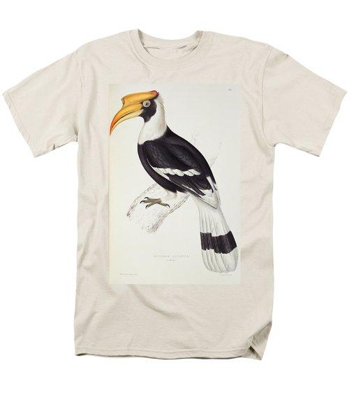 Great Hornbill Men's T-Shirt  (Regular Fit) by John Gould