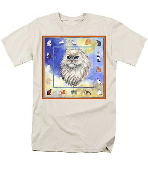 Cats Purrfection Four - Persian T-Shirt by Linda Mears