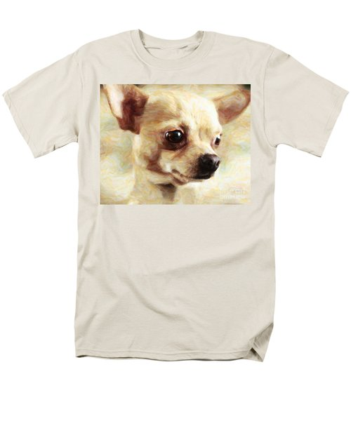 Chihuahua Dog - Painterly T-Shirt by Wingsdomain Art and Photography