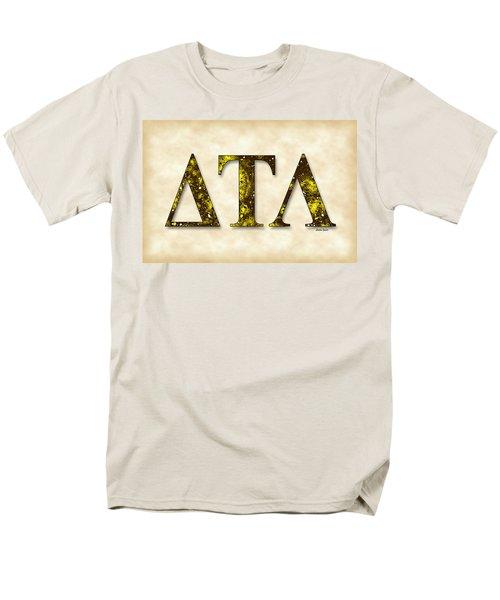 Delta Tau Lambda - Parchment Men's T-Shirt  (Regular Fit) by Stephen Younts