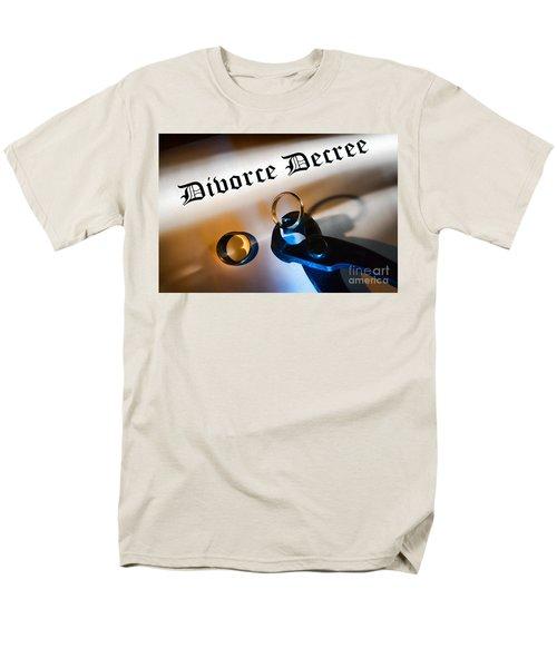 Divorce Decree T-Shirt by Olivier Le Queinec