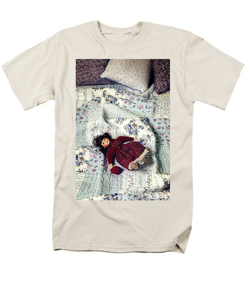 doll on bed T-Shirt by Joana Kruse