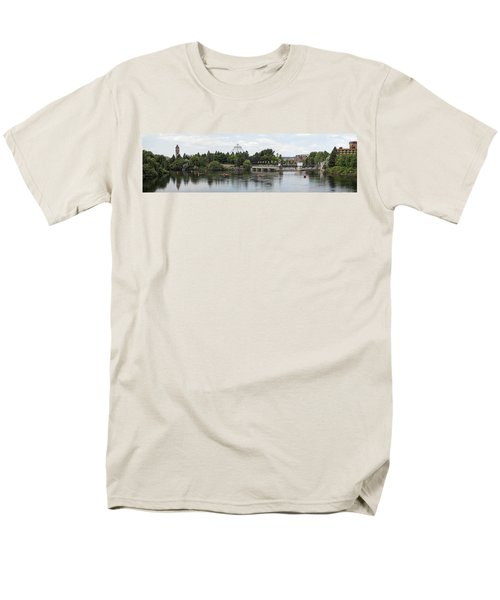 East RIVERFRONT PARK and DAM - SPOKANE WASHINGTON T-Shirt by Daniel Hagerman