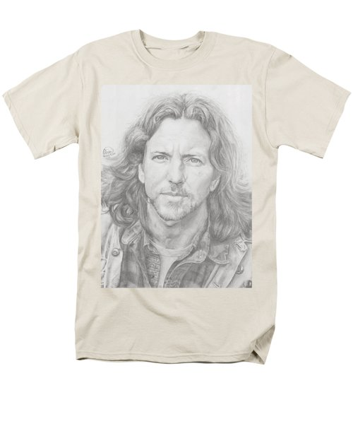 Eddie Vedder Men's T-Shirt  (Regular Fit) by Olivia Schiermeyer